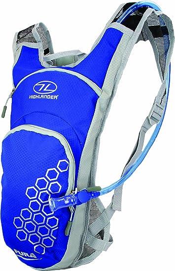 HIGHLANDER - Sistema de hidratación Elixier, Color Azul/Gris, 8 ...