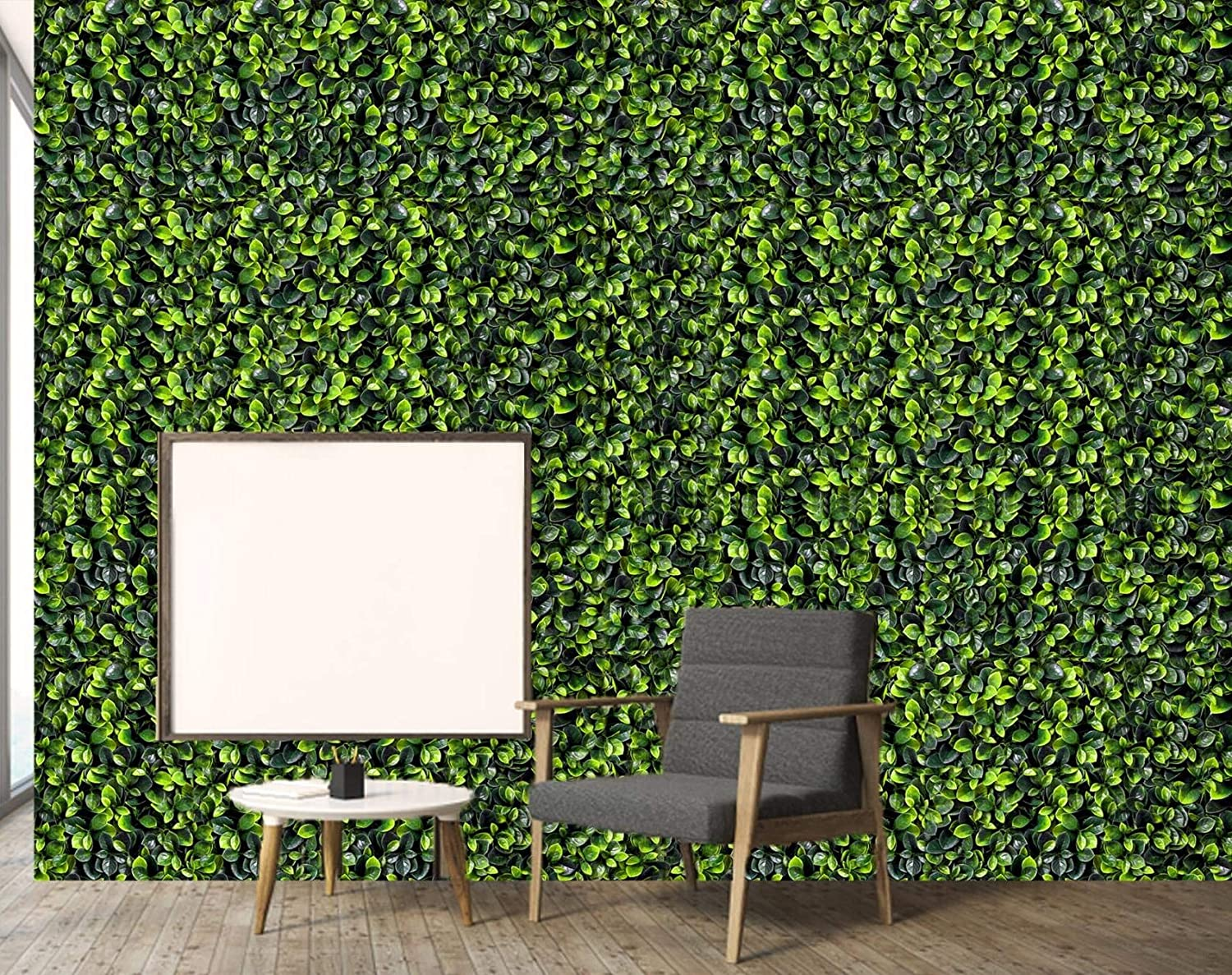 Konark Designer Wallpapers Artificial Grass Wall Panels And Grass Leaf Green 1 Piece Amazon In Home Kitchen