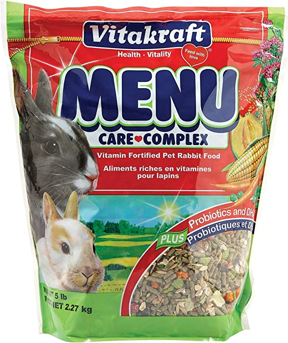 The Best Rabbit Food Vitakraft
