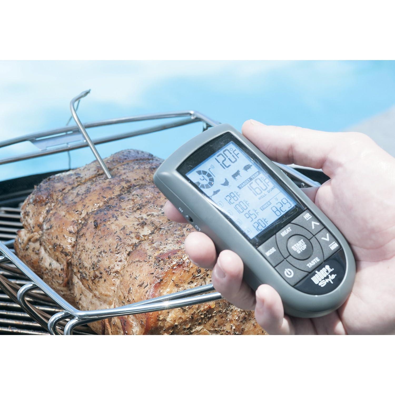 Amazon.com : Weber 6741 Style Dual Probe Wireless Thermometer ...