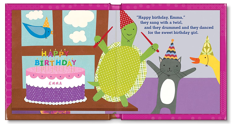 Amazon My Very Happy Birthday Personalized Book For Girls I
