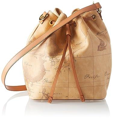 71afe5b2ef586 Alviero Martini bucket bag Geo Natural  Handbags  Amazon.com
