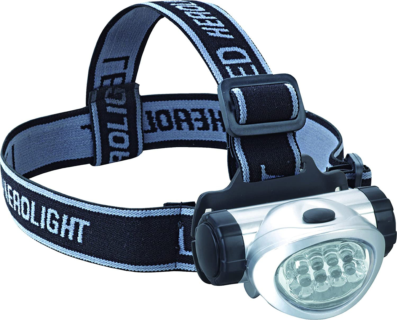 bcalpe Head LED Torch Silver