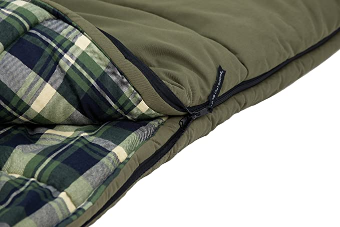 Amazon.com: Alpes outdoorz Redwood -10 rectángulo bolsa de ...