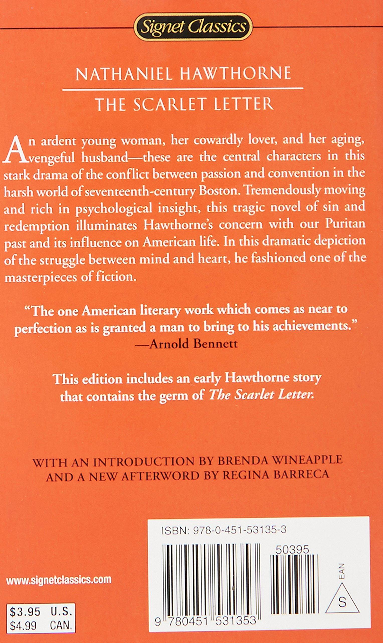 The Scarlet Letter Signet Classics Nathaniel Hawthorne Brenda