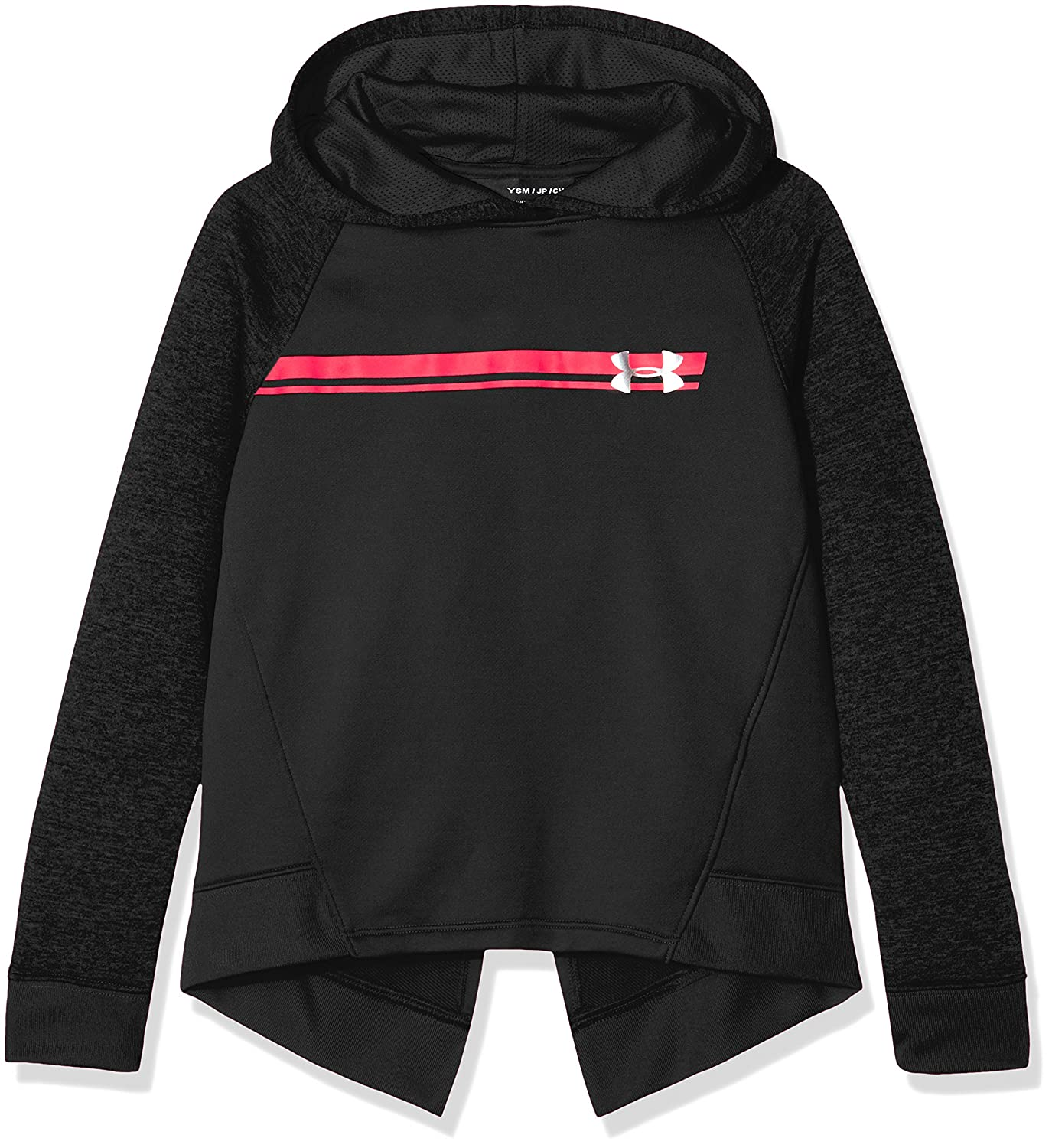 Under Armour Teamwork Terry Hoody, Felpa Bambina 1311343