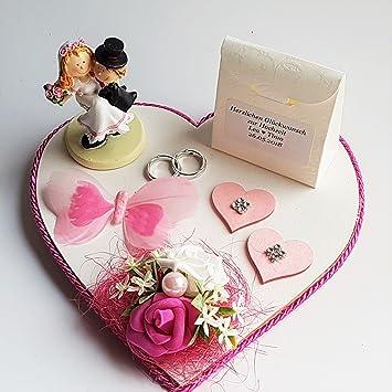 Der Kleine Dekoladen Geldgeschenk Hochzeit Personalisiert Geld