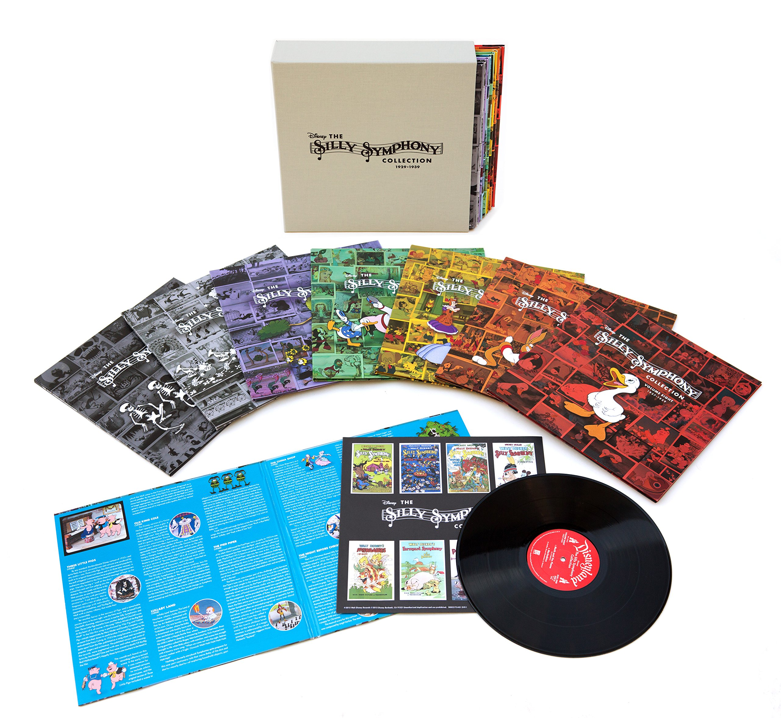 The Silly Symphony Collection 1929-1939 [16 LP Box Set] by VINYL