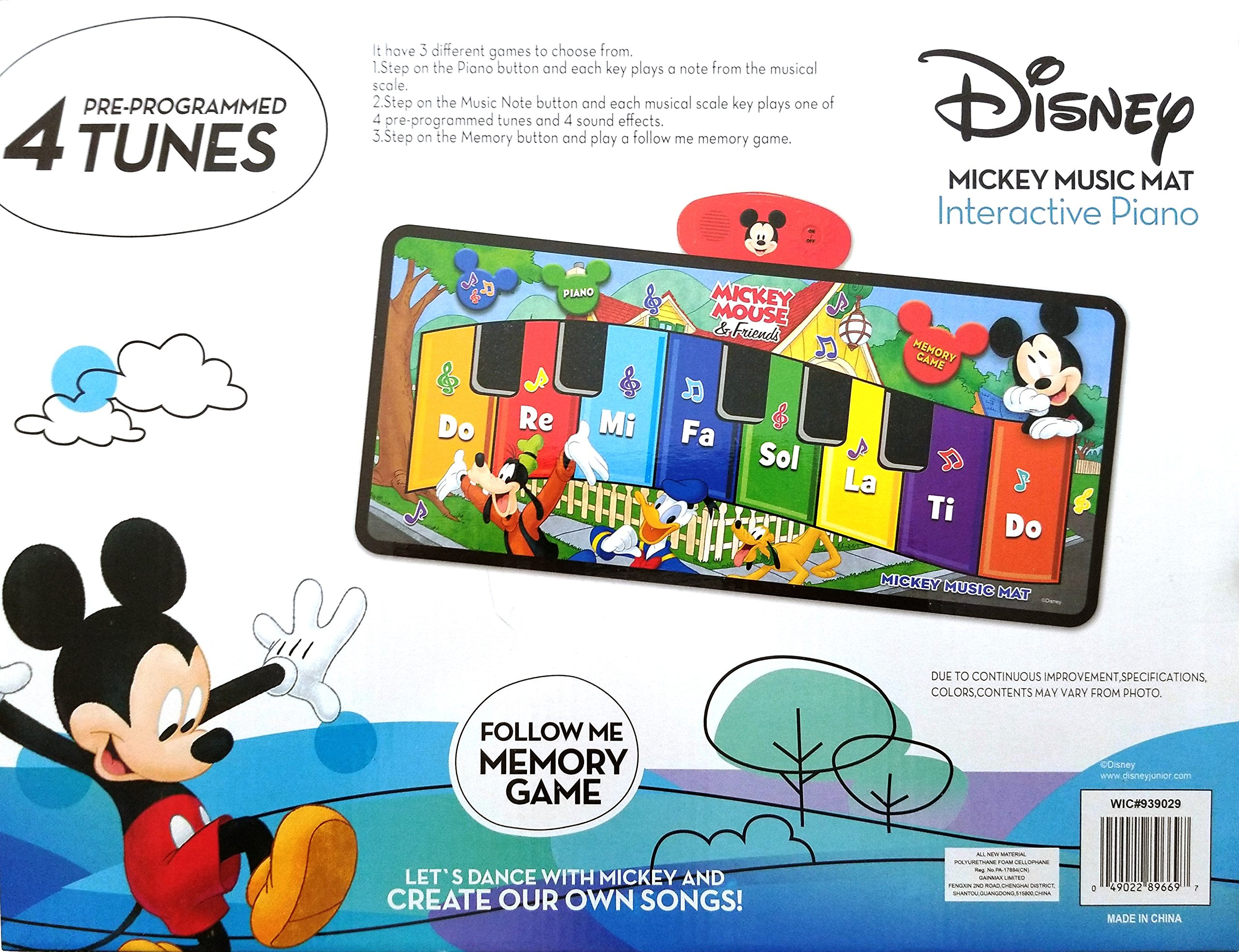 Disney Junior Mickey Mouse Music Mat by Disney (Image #3)