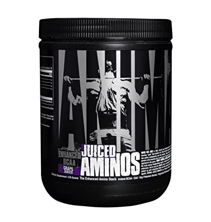 Animal Juiced Aminos – 6g BCAA EAA Matrix Plus 4g Amino Acid Blend for Recovery and Improved Performance – Grape – 30 Servings