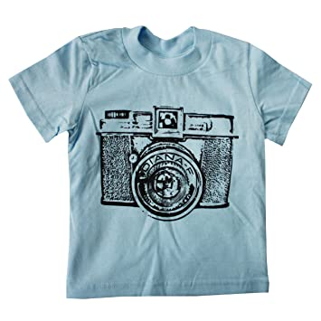 9242e0f62b08c Image Unavailable. Image not available for. Color  Happy Family Retro  Camera Light Blue Boys T Shirt ...