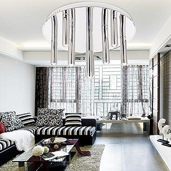 Einfache Und Elegante Led Licht Modern 9 Kopf Deckenleuchte Fur