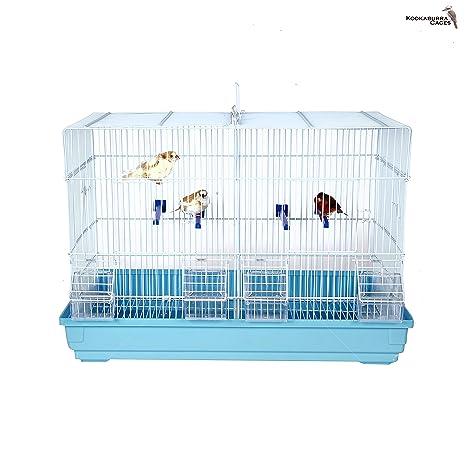 Kookaburra Pecan – Jaula de alambre doble cría para – periquitos ...