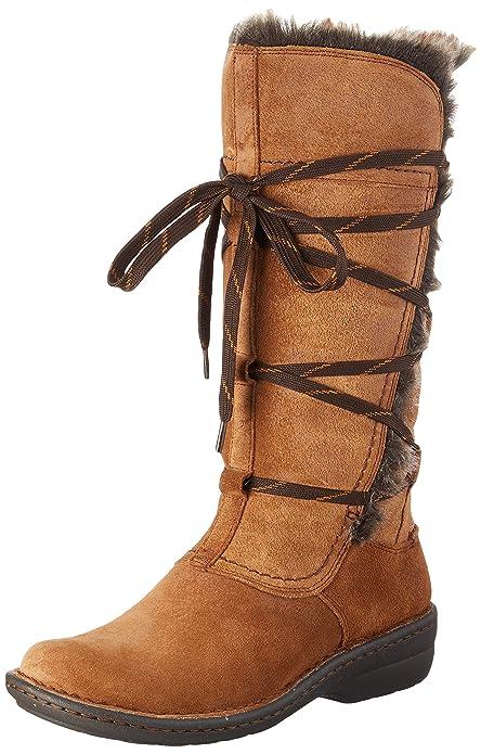Clarks 261204524 - Botas altas para mujer, color Marrón (Tan Combi Suede),