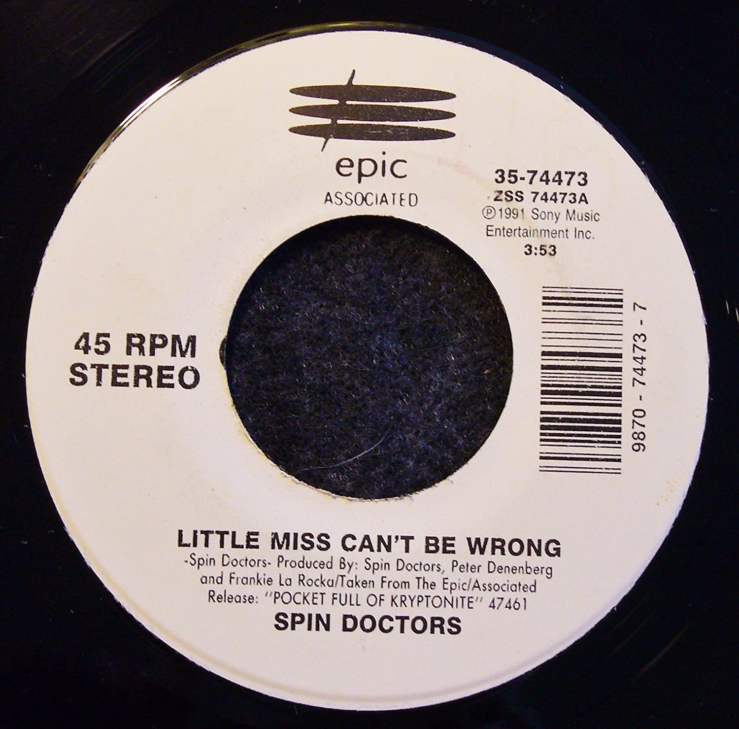 Spin Doctors Little Miss Can T Be Wrong Two Princes Amazon Com Music The music video begins with the band performing in front of a colorful abstract painting. be wrong two princes amazon