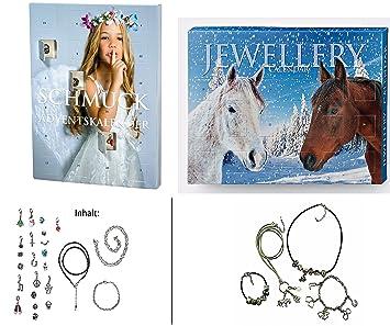 Mädchen Weihnachtskalender.Mädchen Schmuck Adventstkalender Charms Und Beads Adventskalender