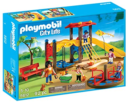 Amazon Com Playmobil Playground Set Toys Games