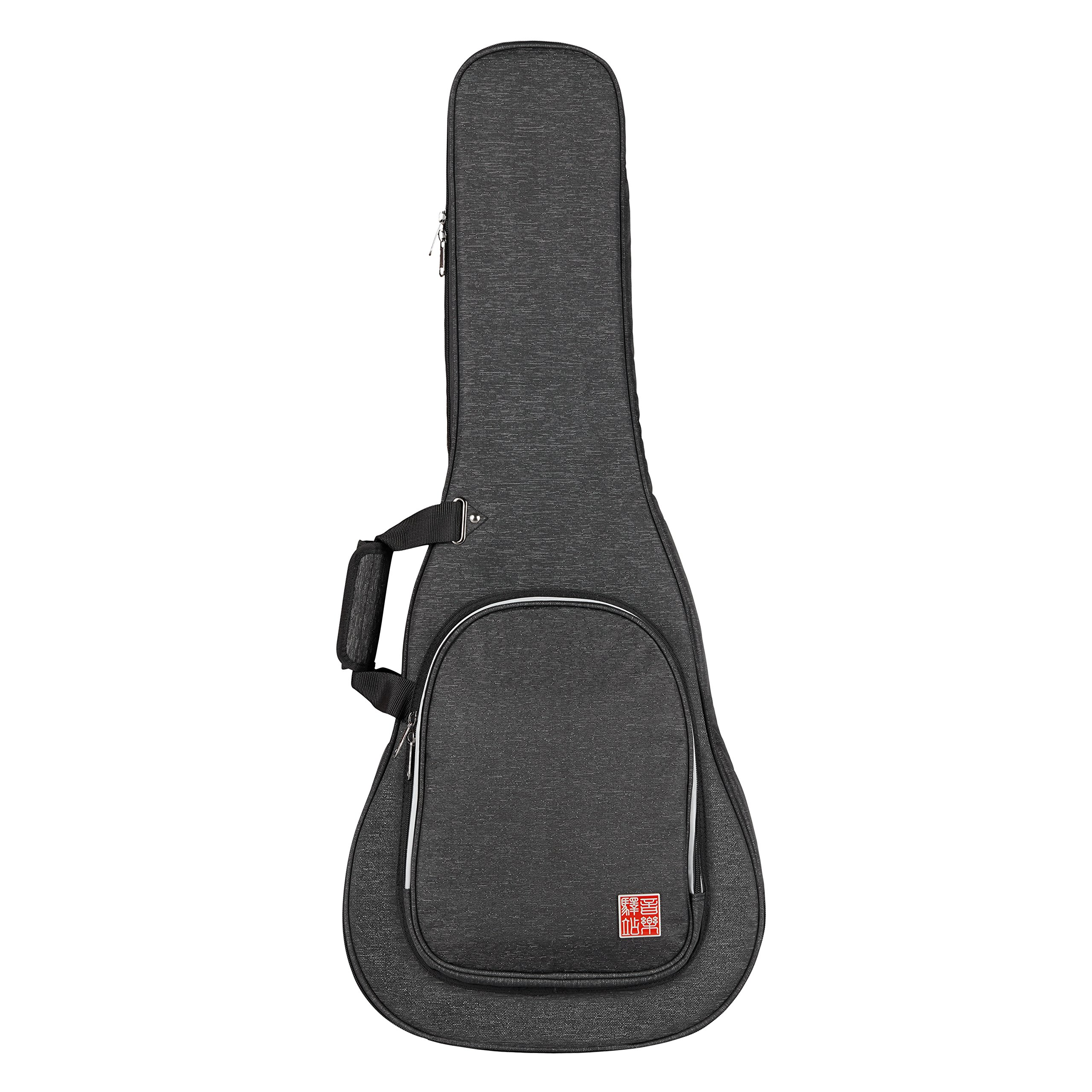 Music Area RB20 Acoustic Guitar Gig Bag Waterproof with 20mm cushion protection - Black