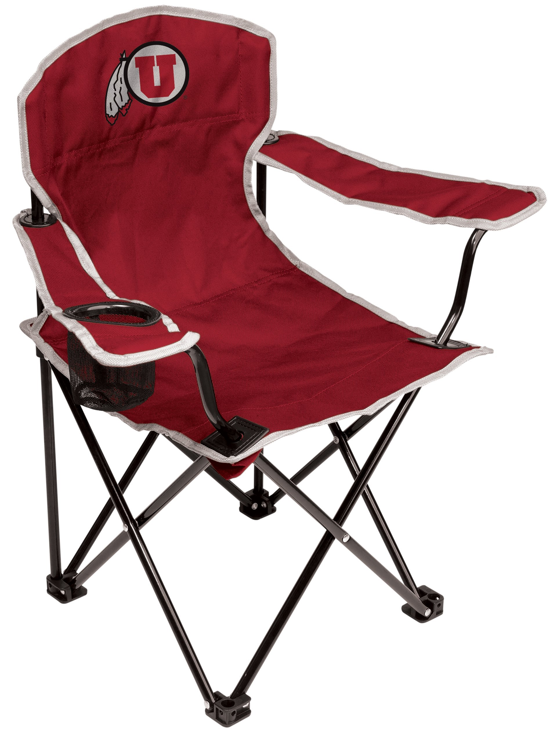 NCAA Utah Utes Youth Folding Chair, Red by Coleman