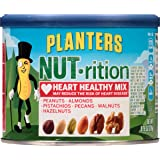 Planters NUT-rition Heart Healthy Mix, 9.75-oz. Cans (Pack of 3)