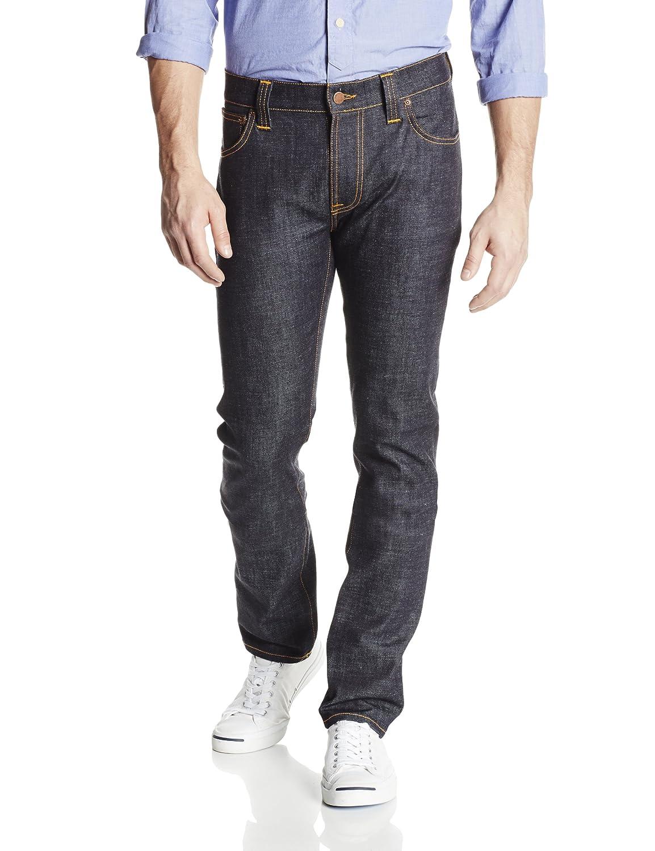 (ヌーディージーンズ)Nudie Jeans Thin Finn B00HWQX9IU 33W x 34L|Dry Twill Dry Twill 33W x 34L