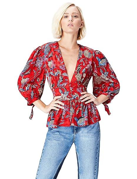 5f90531ef FIND Blusa Estilo Kimono para Mujer  Amazon.es  Ropa y accesorios