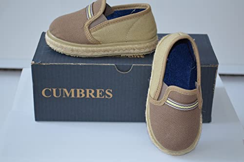 CUMBRES - Mocasines Niños , color beige, talla 27: Amazon.es: Zapatos y complementos