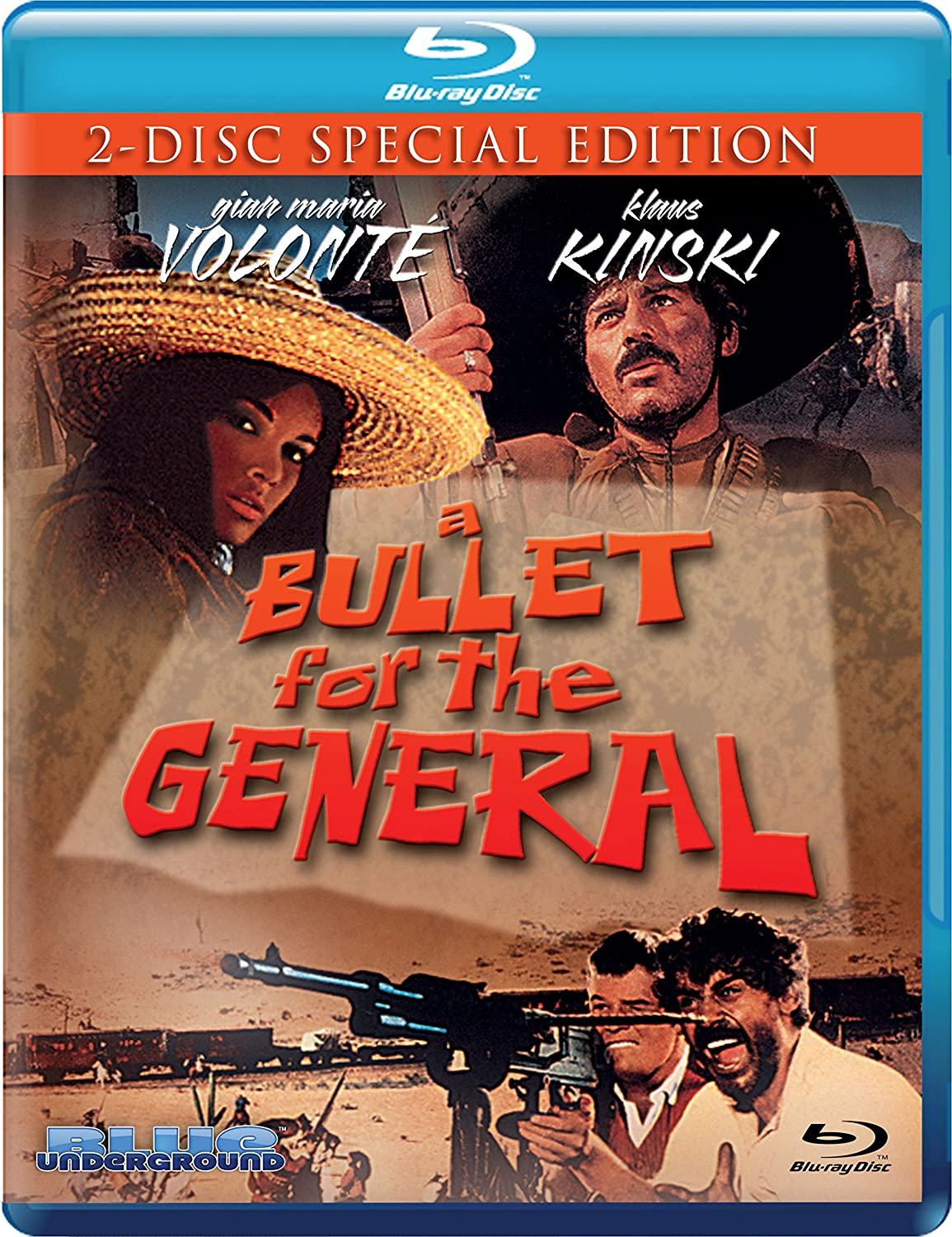 A Bullet for the General [Blu-ray] Gian Maria Volonté Klaus Kinski Martine Beswick Lou Castel