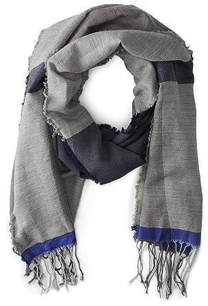 9b0e0fc1c17e Armani Jeans écharpe homme en laine gris  Amazon.fr  Vêtements et ...