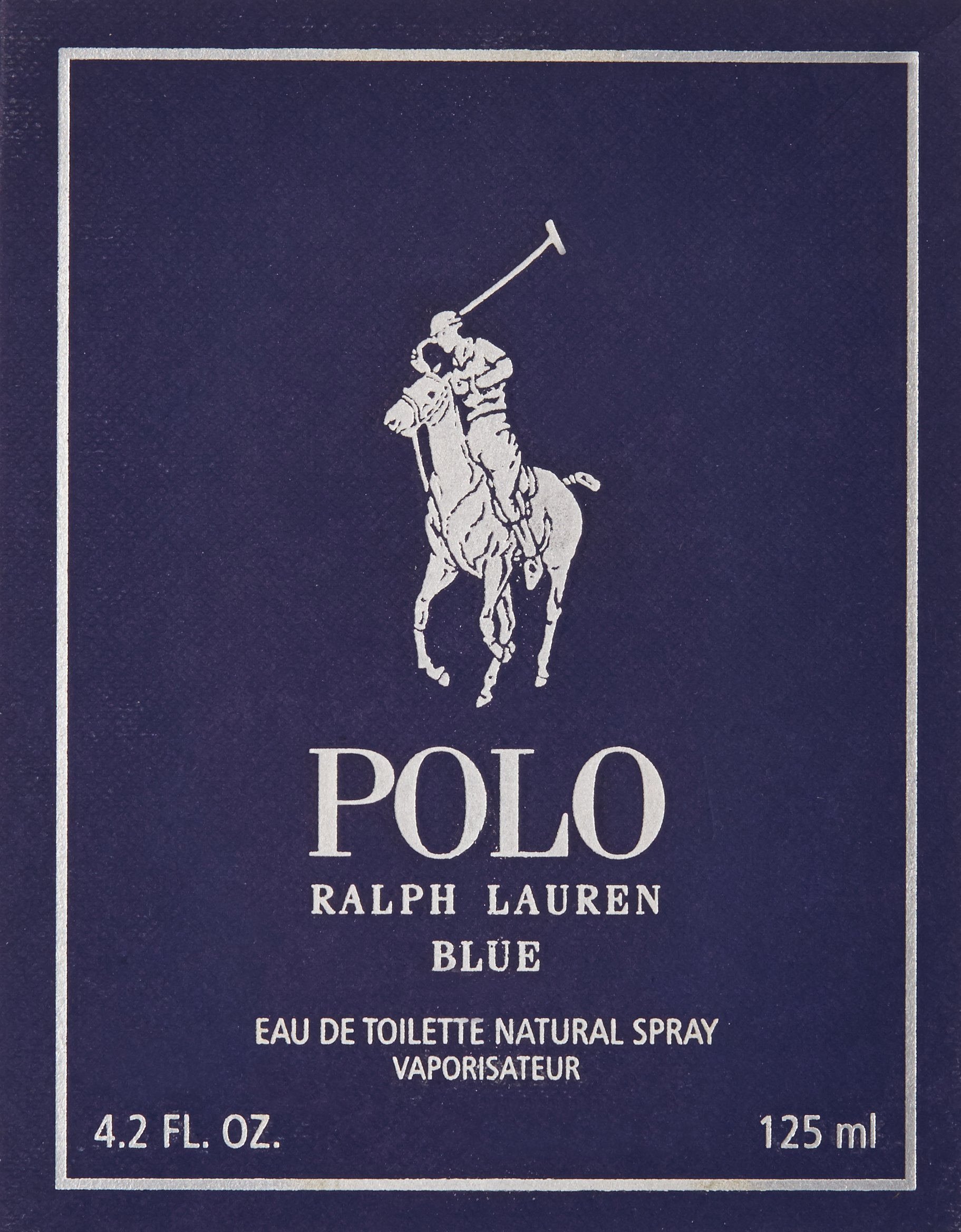 Polo Blue by Ralph Lauren for Men, Eau De Toilette Natural Spray, 4.2 Ounce by RALPH LAUREN (Image #3)