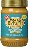 Crazy Richards 100% Natural Creamy Peanut Butter, 16 oz, 6 per Case
