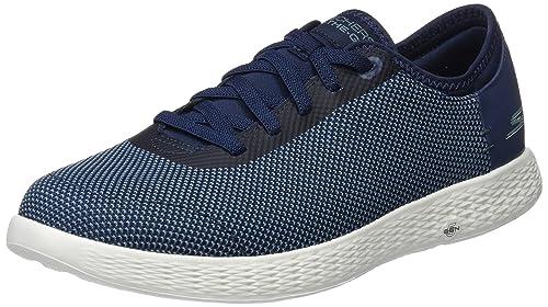 Skechers Go Walk 4-Solar, Zapatillas para Hombre, Azul (Blue), 39.5 EU