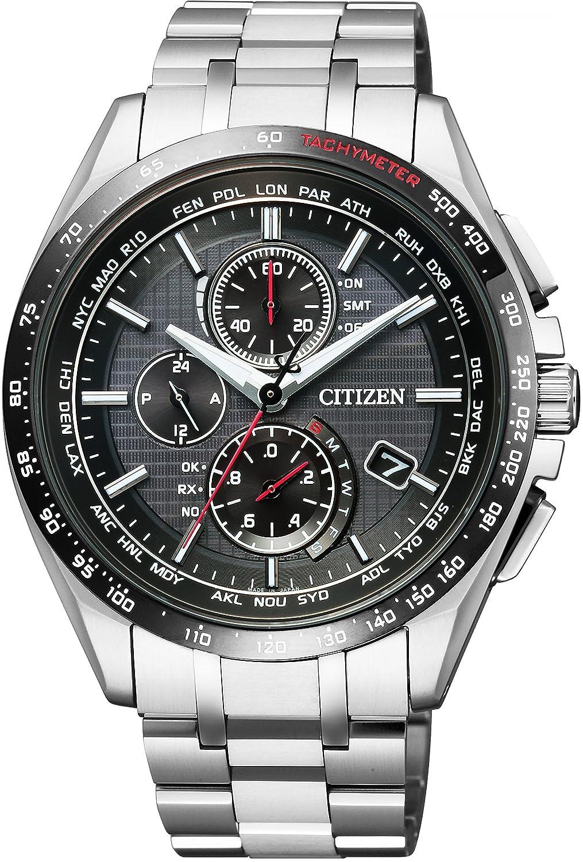 Citizen Attesa, Eco Watch, Tachymeter, Stainless-steel Watch, Silver Watch