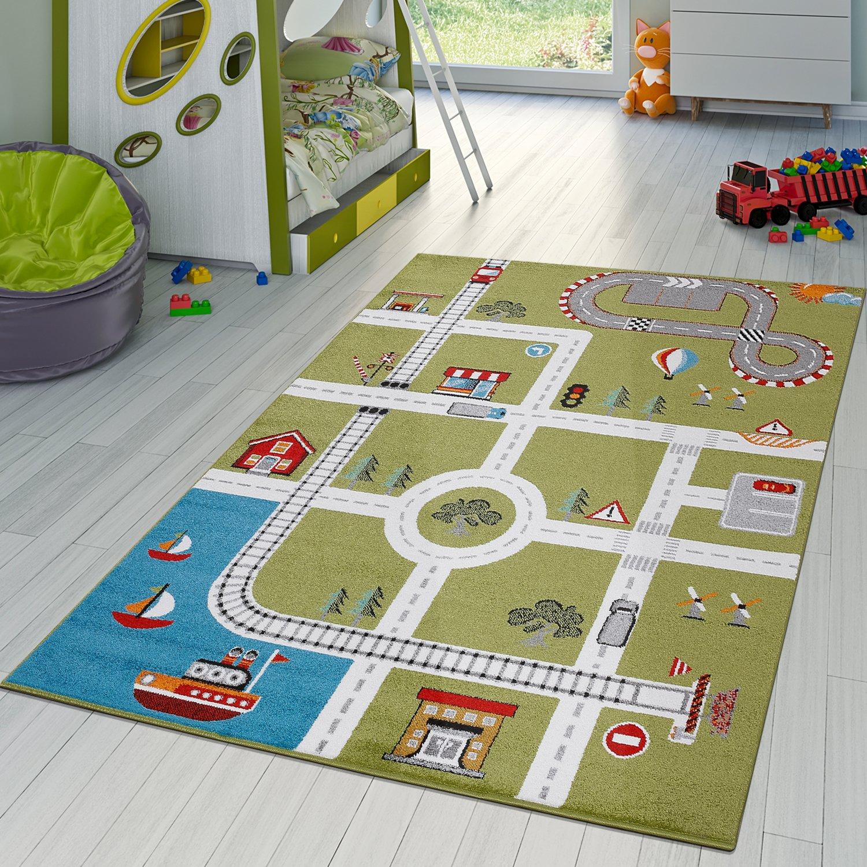 Spielteppich, Schaumstoff, mit Verkehrsschildern, 124 x 60cm ...