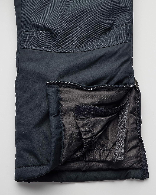 CHEROKEE Womens Insulated Snow Bib, Black, Size Large
