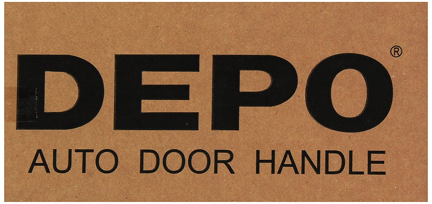 Depo 315-50013-111 Front and Rear Passenger Side Exterior Door Handle