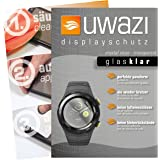 Huawei Watch 2 Schutzfolie 5x uwazi glas-klare Displayschutzfolie Folie