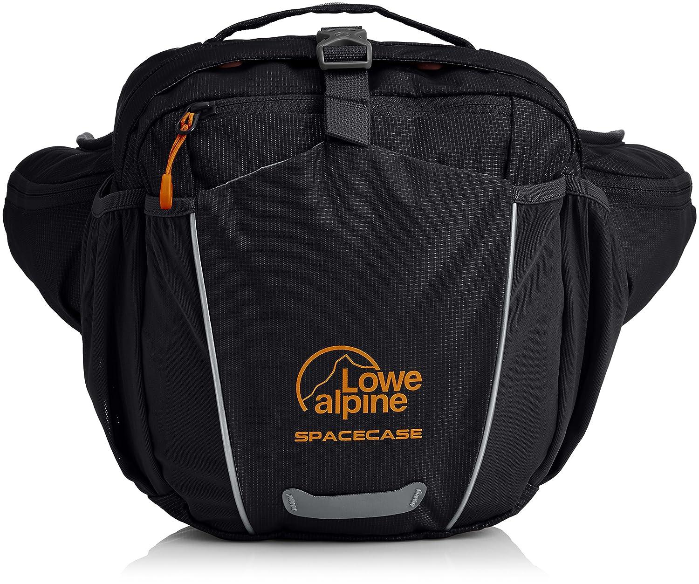 Lowe Alpine, Marsupio Space Case, Nero (Black/Pumpkin), 30 x 15 x 10 cm, 4,5 Litri FAD-90-BL-U