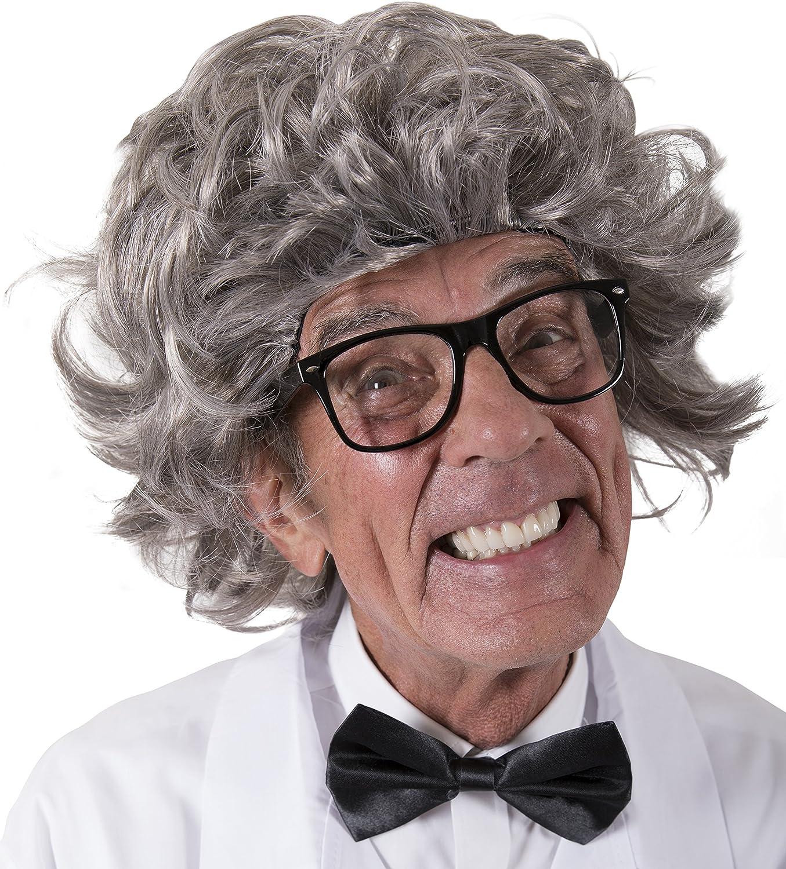 Kangaroo's Mad Scientist Wig, Albert Einstein Wig for Kids or Adults