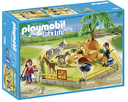 PLAYMOBIL Wild Animal Enclosure Playset