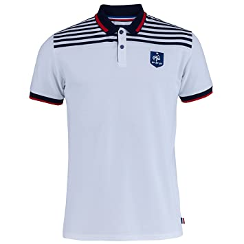 Equipe de FRANCE de football Polo FFF - Collection officielle Taille adulte homme S tqHF890a