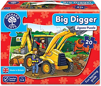 Big Digger Jigsaw – ages 3-6