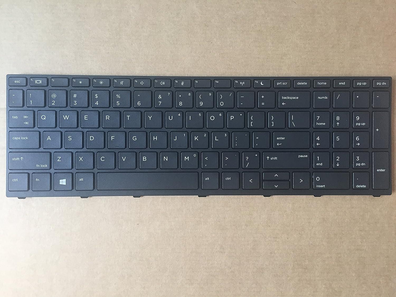 Original New for HP Probook 450 G5 455 G5 470 G5 Keyboard Without Backlit Frame US L01027-001 L01028-001