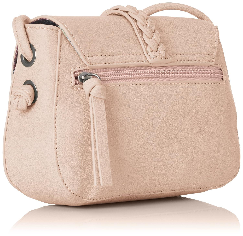 Damen Nadya Crossbody Bag Umhängetasche, Pink (Pink), 6x14,5x20 cm Tamaris