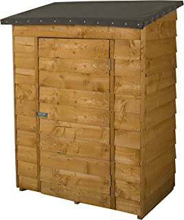 Forest Midi Wall Store & Forest Wooden Pressure Treated Pent Tall Garden Patio Store Shed ...