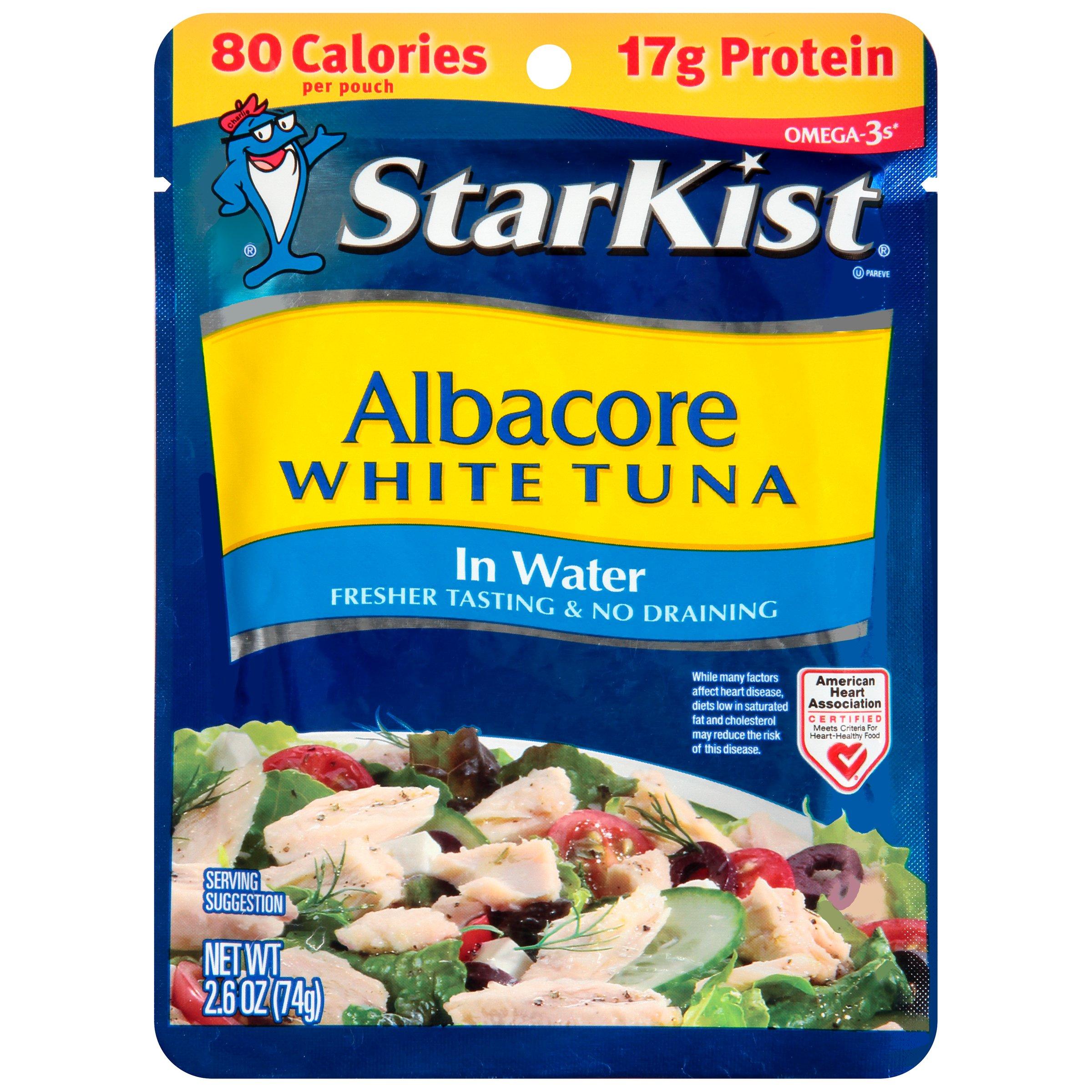 StarKist Albacore White Tuna in Water, 12 Count