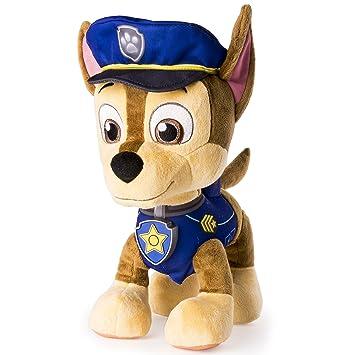 amazon com paw patrol real talking chase plush toy toys games