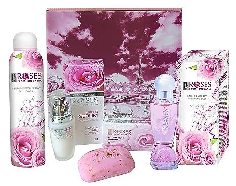 """Coffret cuidados y belleza Nature Of agiva """"Roses from Bulgaria Eau de Parfum"""""""