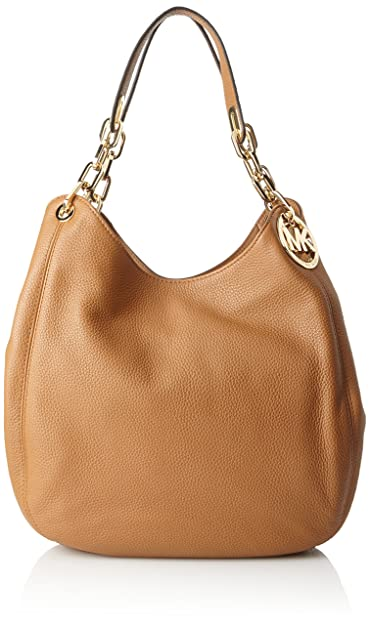 49bab94da820 Michael Kors Womens Fulton Tote Brown (Acorn): Amazon.co.uk: Shoes & Bags