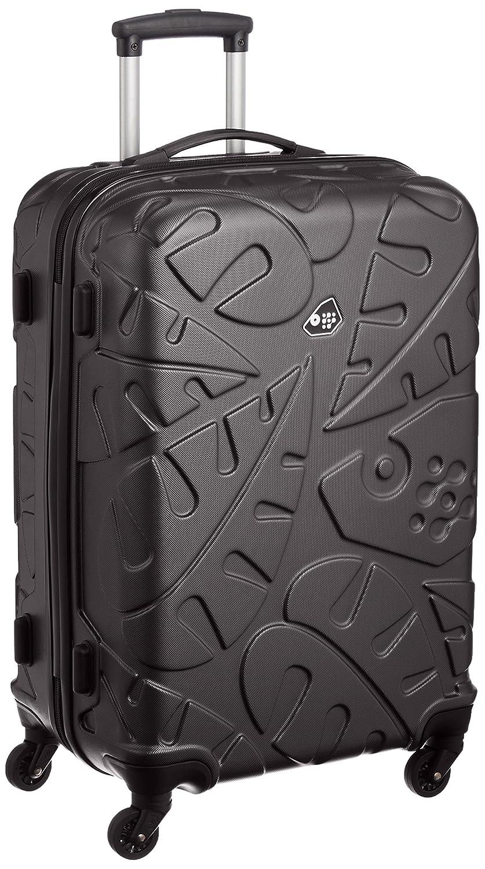 [カメレオン] スーツケース ピナード 66L 保証付 B01M67MZL2  ブラック